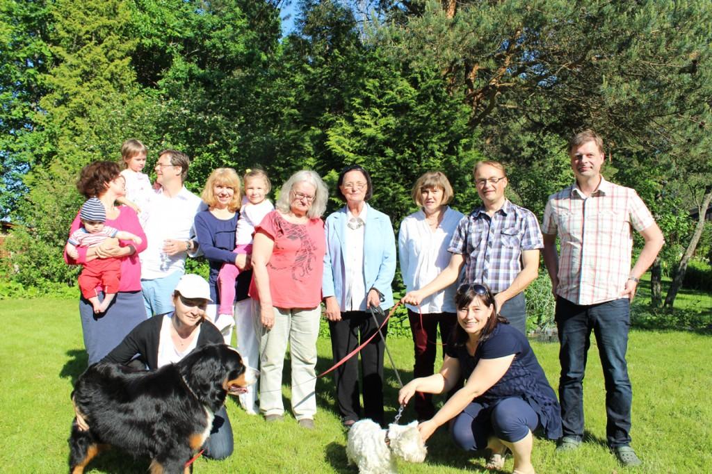 Styrelsemöte i Ingå, den 7 juni 2014 (med familjemedlemmar)